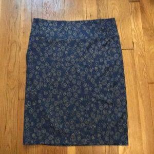 Lularoe Cassie Skirt Dandelion print